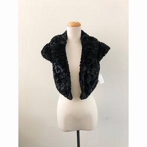 Jackets & Blazers - Black Faux Fur Jacket